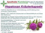 Hepatosan Kräuterkapseln
