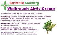 Weihrauch Aktiv-Creme