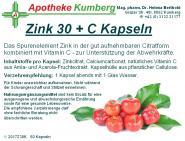 Zink 30 + C Kapseln