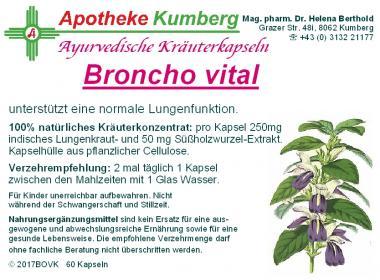 Broncho vital Kapseln