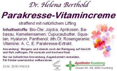 Parakresse-Vitamincreme