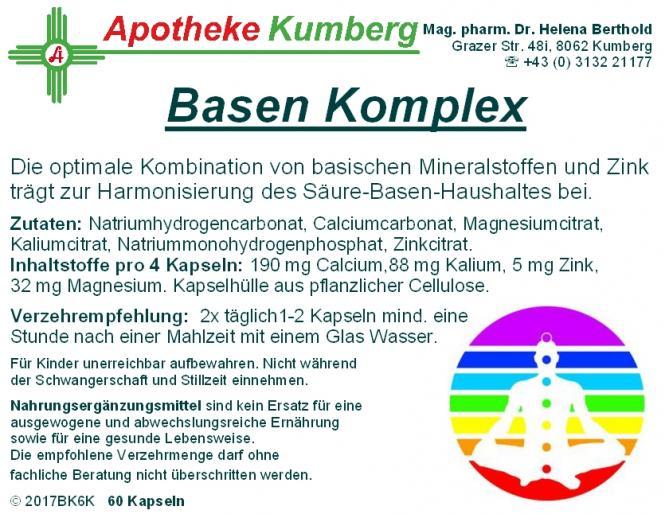 Basen Komplex Kapseln