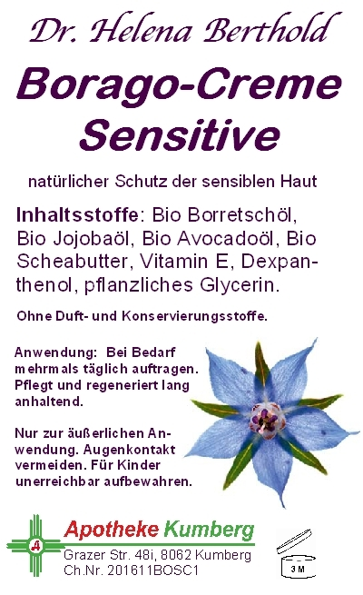 Borago-Creme Sensitive
