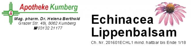 Echinacea Lippenbalsam