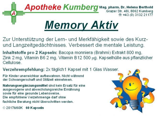 Memory Aktiv Kapseln